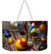 Toys And Marbles Weekender Tote Bag by Garry Gay