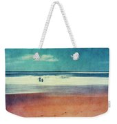 Traces In The Sand Weekender Tote Bag