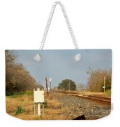 Track Crossing  Weekender Tote Bag