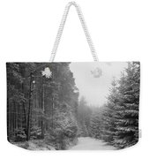 Track, Winter, Slaley Woods Weekender Tote Bag