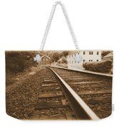Tracks To Town Weekender Tote Bag