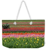 Tractor Among The Tulips Weekender Tote Bag