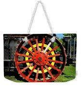 Tractor Big Wheel Weekender Tote Bag