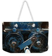 Tractor Engine IIi Weekender Tote Bag by Stephen Mitchell