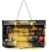 Tractor Engine Iv Weekender Tote Bag by Stephen Mitchell