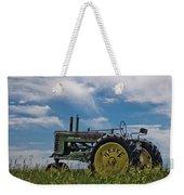 Tractor In Field Weekender Tote Bag