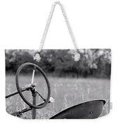 Tractor In Long Grass Weekender Tote Bag
