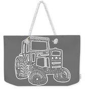 Tractor Transparent Weekender Tote Bag