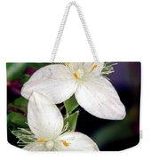 Tradescantia Flower Weekender Tote Bag