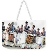 Traditional Drummers Weekender Tote Bag