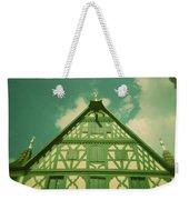 Traditional House Roth Germany Cross Process Holga Photography Weekender Tote Bag