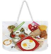 Traditional Israeli Breakfast Weekender Tote Bag