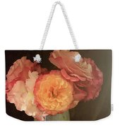 Traditional Rose Still Life Weekender Tote Bag