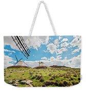 Traditional White Windmills  Weekender Tote Bag