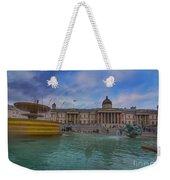 Trafalgar Square Fountain London 12 Weekender Tote Bag