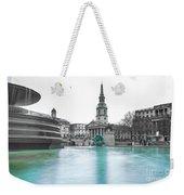 Trafalgar Square Fountain London 3 Weekender Tote Bag