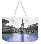 Trafalgar Square Fountain London 3d Weekender Tote Bag