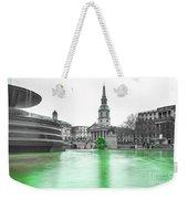 Trafalgar Square Fountain London 3f Weekender Tote Bag