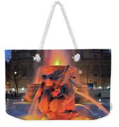 Trafalgar Square Fountain Weekender Tote Bag