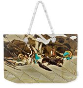 Traffic Along Euclid, Cleveland Weekender Tote Bag