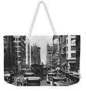 Traffic On Fifth Avenue Weekender Tote Bag