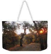 Trail At Sunrise Weekender Tote Bag