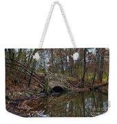 Trail Bridge Weekender Tote Bag
