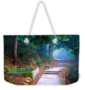 Trail In Woods Weekender Tote Bag