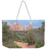 Trail Through The Garden Weekender Tote Bag