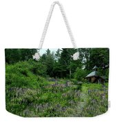 Trail To The Cabin Weekender Tote Bag