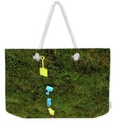 Trail To The Sand Weekender Tote Bag