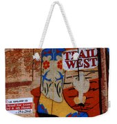 Trail West Mural Weekender Tote Bag