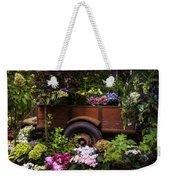 Trailer Full Of Flowers Weekender Tote Bag