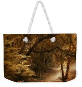 Trailing Autumn Weekender Tote Bag