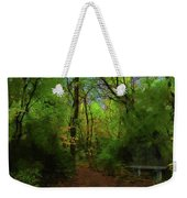 Trailside Bench Weekender Tote Bag