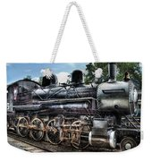 Train - Engine - 385 - Baldwin 2-8-0 Consolidation Locomotive Weekender Tote Bag