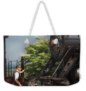 Train - Engine - Alllll Aboard Weekender Tote Bag
