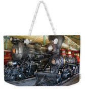 Train - Engine - Steam Locomotives Weekender Tote Bag
