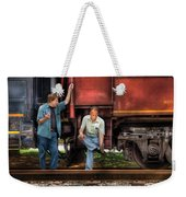 Train - Yard - Shoot'in The Breeze Weekender Tote Bag