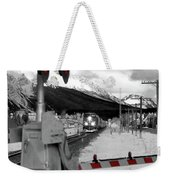 Train A Comin Weekender Tote Bag