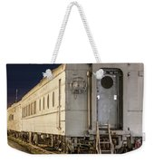 Train Car And Tracks Weekender Tote Bag