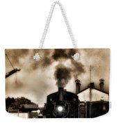 Train Coming In The Station Weekender Tote Bag