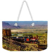 Train Coming Into The Station Weekender Tote Bag