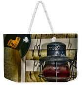 Train Conductor Takes A Break Weekender Tote Bag