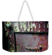 Train Door Weekender Tote Bag