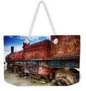 Train Graveyard Uyuni Bolivia 18 Weekender Tote Bag