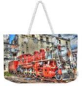 Train In Havana Weekender Tote Bag