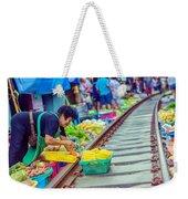 Train Market 2323 Weekender Tote Bag