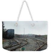 Train On Tracks Weekender Tote Bag