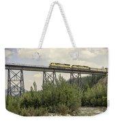 Train On Trestle Weekender Tote Bag